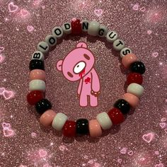 Diy Kandi Bracelets, Pony Bead Bracelets, Pony Beads, Kandi Mask, Kandi Cuff, Kandi Patterns, Beading Patterns, Pretty Necklaces, Pearler Beads