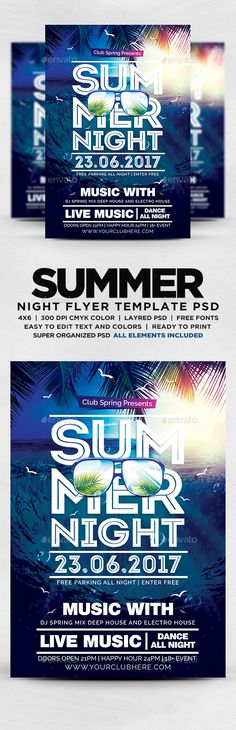 108 best beach party flyers images in 2018 party flyer