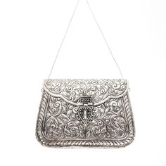 Shop the Atria Clutch at fromstxavier.com. With the From St Xavier collection available online, enjoy free US ground shipping and returns on orders over $100.