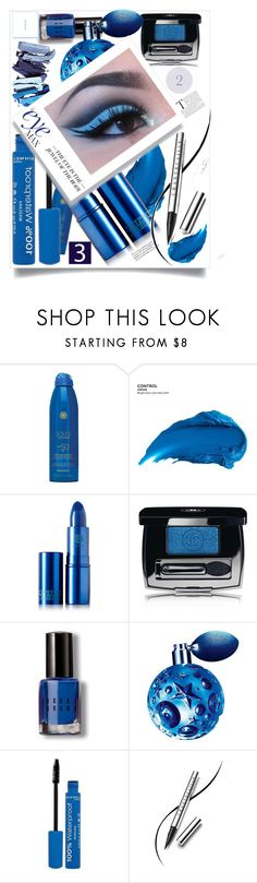 """Eye max"" by felicitysparks ❤ liked on Polyvore featuring Soleil Toujours, Urban Decay, Lipstick Queen, Chanel, Bobbi Brown Cosmetics, Thierry Mugler, Rimmel and Chantecaille"