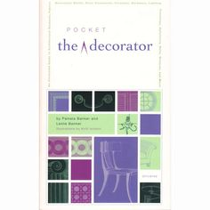 The Pocket Decorator: An Illustrated A to Z Handbook to the Essential Language of Interior Design #empiredelicious