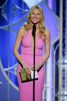 Gwyneth Paltrow in Michael Kors and Harry Winston jewelry - Photo: Paul Drinkwater/NBCUniversal via Getty Images