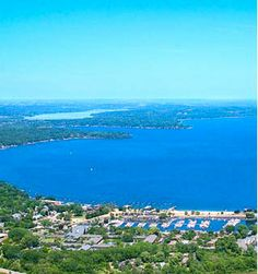 Lake Geneva, Wisconsin...quiet, peaceful and romantic weekend (or all week long) getaway.