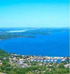Lake Geneva, Wisconsin...quiet, peaceful and romantic weekend (or all week long) getaway.
