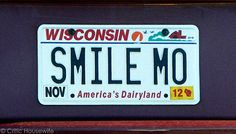 Wisconsin License Plate #licenseplate #wisconsin | Critic Housewife