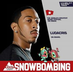American hip hop artist and actor will be playing the first edition of Snowbombing Festival in Canada in April 2017