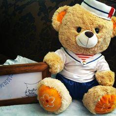 """4 Me gusta, 1 comentarios - Jazmines & Tutus (@jazminesytutus) en Instagram: """"Vestuarios de marineros para osos de peluche, tres medianos y uno grande, para decoración de baby…"""""""