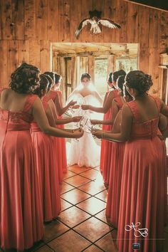 Sesión de fotos , #boda #brianyxox #Bridesmaid #fotografía #wedding #photography #sesion #damas #nikon #hoyluces #coral