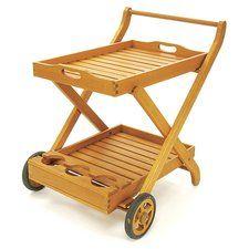 Eucalyptus Bar Cart