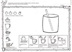 cooking oil for coloring Cooking Instructions, Cooking Oil, School Fun, Speech Therapy, Second Grade, Mexican Food Recipes, Homeschool, Language, Classroom