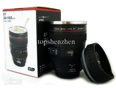 Hot 5generation Stainless Steel Liner Travel Thermal Coffee Camera Lens Mug Cup 400ml Black By Fedex Make Coffee Mugs Make Custom Coffee Mugs From Topshenzhen, $5.82  Dhgate.Com