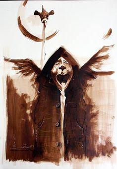 "Saatchi Art Artist Hasti Radpour; Drawing, ""The Fountaine!"" #art"