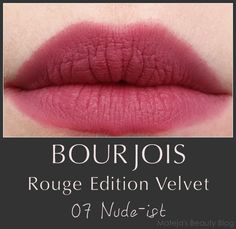 Mateja's Beauty Blog: Bourjois Rouge Edition Velvet 07 Nude-ist