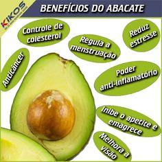 Conheça os benefícios do abacate #abacate #beneficios