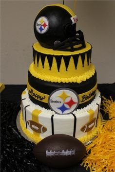 The ultimate Steelers Superbowl XLV Birthday Cake By sobanion on CakeCentral.com