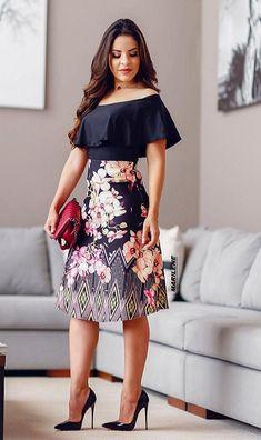 Casual Dresses, Short Dresses, Fashion Dresses, Girls Dresses, Classy Dress, Classy Outfits, Indian Designer Outfits, Designer Dresses, Night Dress For Women