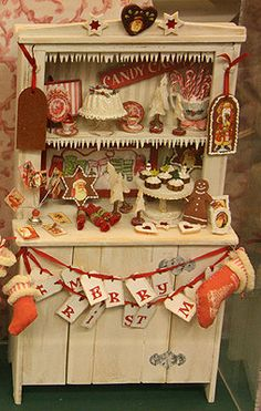 Christmas Cabinet by Sue Herber