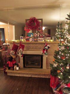 Minwax Dark Walnut on Red Oak Hardwood Floor Stain Colors, Hardwood Floors, Flooring, Red Oak Floors, Sweet Home, Stains, Christmas Tree, Holiday Decor