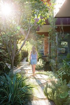You could, for instance, create a flagstone and gravel walkway leading into a meditation and relaxation secluded spot deep into your garden, perhaps with a soothing fountain or fireplace. For more ideas go to backyardmastery.com