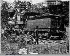 Vintage Civil War Federal Military Train ~ 1862