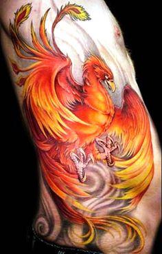 Phoenix Tattoo 3d