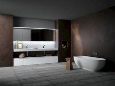 Ink NK 04 | Compab _ A personal idea! Tutto in nicchia, libertà alla vasca da bagno.
