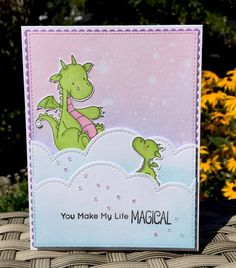 Create a little magic with this fun and whimsical card.