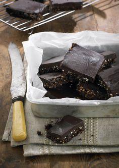 Raw chocolate crackle