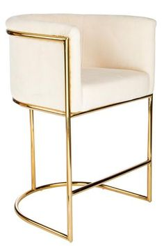 "J-102C-Mira Gold 26"" Counter Chair"