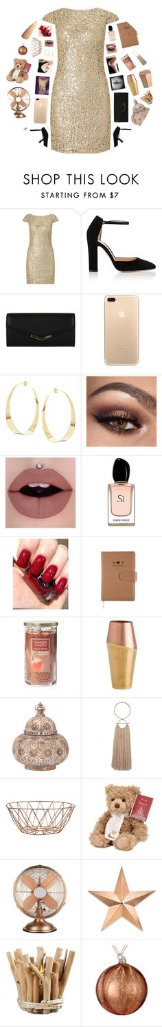 """But without the dark, we'd never see the stars"" by victoria-pittore ❤ liked on Polyvore featuring Adrianna Papell, Gianvito Rossi, Fendi, Lana, Armani Beauty, Yankee Candle, Bloomingville, Harrods, Thos. Baker and BoConcept"