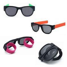 ab60c04eae1 Unisex Fashion UV400 Polarized Folding Bracelet Sunglasses