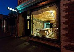 Baker D. Chirico brand identity & interior, Carlton Australia store design branding