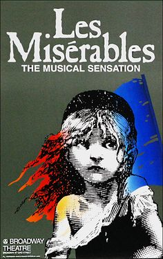 Buy the Les Miserables the Musical Broadway Window Card Poster (Original Production) at PlaybillStore.com