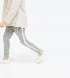 Image 1 of DOUBLE WAISTBAND TROUSERS from Zara