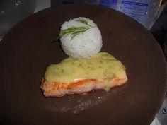 Pavé+de+saumon+sauce+hollandaise+citron-aneth