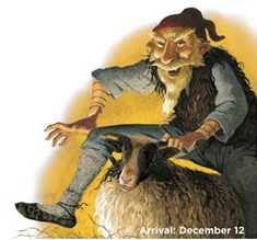 """The Yule Lads originate from Icelandic folklore. Each individual Lad ranging from mere pranksters to homicidal monsters who eat children. The Yule lads are said to """"come to town"""" during the last 13 nights before Jul. Troll, Iceland Christmas, Christmas Cats, Xmas, Hallmark Christmas, White Christmas, Norse Mythology, Large Animals, Winter Solstice"""
