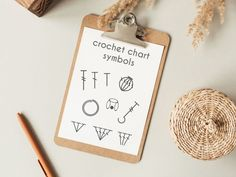 Are you new to the crochet chart / diagram game? It's not a problem! If you want to know what is a crochet diagram? What are crochet chart symbols? How do I start? Why are people using charts? All the answers are in this and other articles on my website. #crochetchart #crochetchartsymbols #chartsymbols #crochetdiagram Crochet Diagram, Crochet Chart, Baby Blanket Crochet, Crochet Baby, Cluster, Place Card Holders, Knitting, Charts, Crocheting