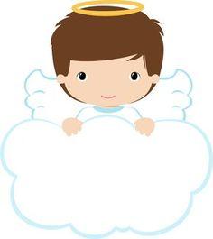 4shared - Ver todas las imágenes de la carpeta ANGELS-BOYS-grafosclipart Baptism Centerpieces, Baptism Decorations, Baby Shower Decorations, Balloon Decorations, Première Communion, First Communion, Angel Clipart, Angel Theme, Cloud Illustration