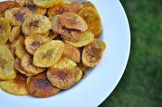 how to make healthy plantain chips -- realhealthyrecipes.com