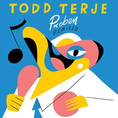 Todd Terje - Preben Remixed artwork