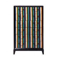 Kare Harlekin cabinet harlekin 2 portes 3 tiroirs kare design for the home