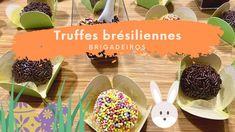 Truffes au chocolat en 15 min - Brigadeiros - Pas à Pas Cereal, Breakfast, Food, Brazilian Cuisine, Chocolate Truffles, Greedy People, Morning Coffee, Essen, Meals