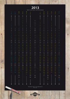 Simple-Yet-Elegant-2013-Calendar-Design