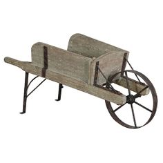 For a statement piece of garden decor, we'd recommend our rustic wheelbarrow, find it at www.orchardlayne.co.uk
