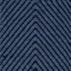 Dual Vertical Herringbone, main light blue inside dark denim 0517 on the natural yarn Vandra Rugs Yarn Colors, Dark Denim, Natural Linen, Scandinavian Design, Herringbone, Wool Felt, Bespoke, Light Blue, Rugs