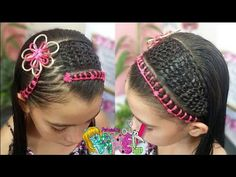 Girl Hairstyles, Braids, Youtube, Hair Styles, Daisy, Fashion, Up Dos, Braids For Long Hair, Braided Updo