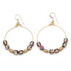 Flame Stargazer Earrings