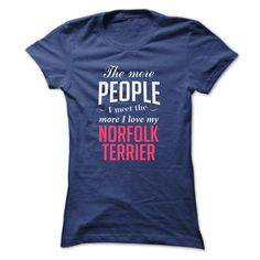 I LOVE MY NORFOLK TERRIER T-Shirts, Hoodies, Sweatshirts, Tee Shirts (22.99$ ==► Shopping Now!)