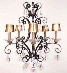 Lopez de Hierro Granada - Lámpara Forja 5 luces hierro