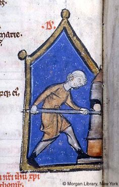 Psalter-Hours, MS M.97 fol. 6v - Images from Medieval and Renaissance Manuscripts - The Morgan Library & Museum